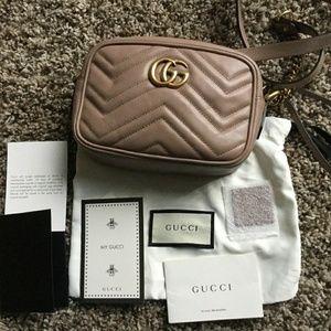 Handbags - Gucci Marmont Gg Matelasse Mini